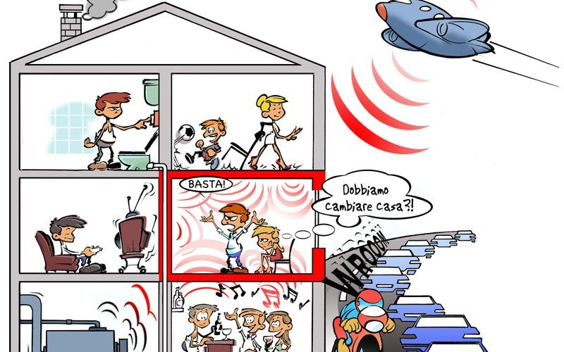 Va risarcito l'inquilino se il vicino è troppo rumoroso